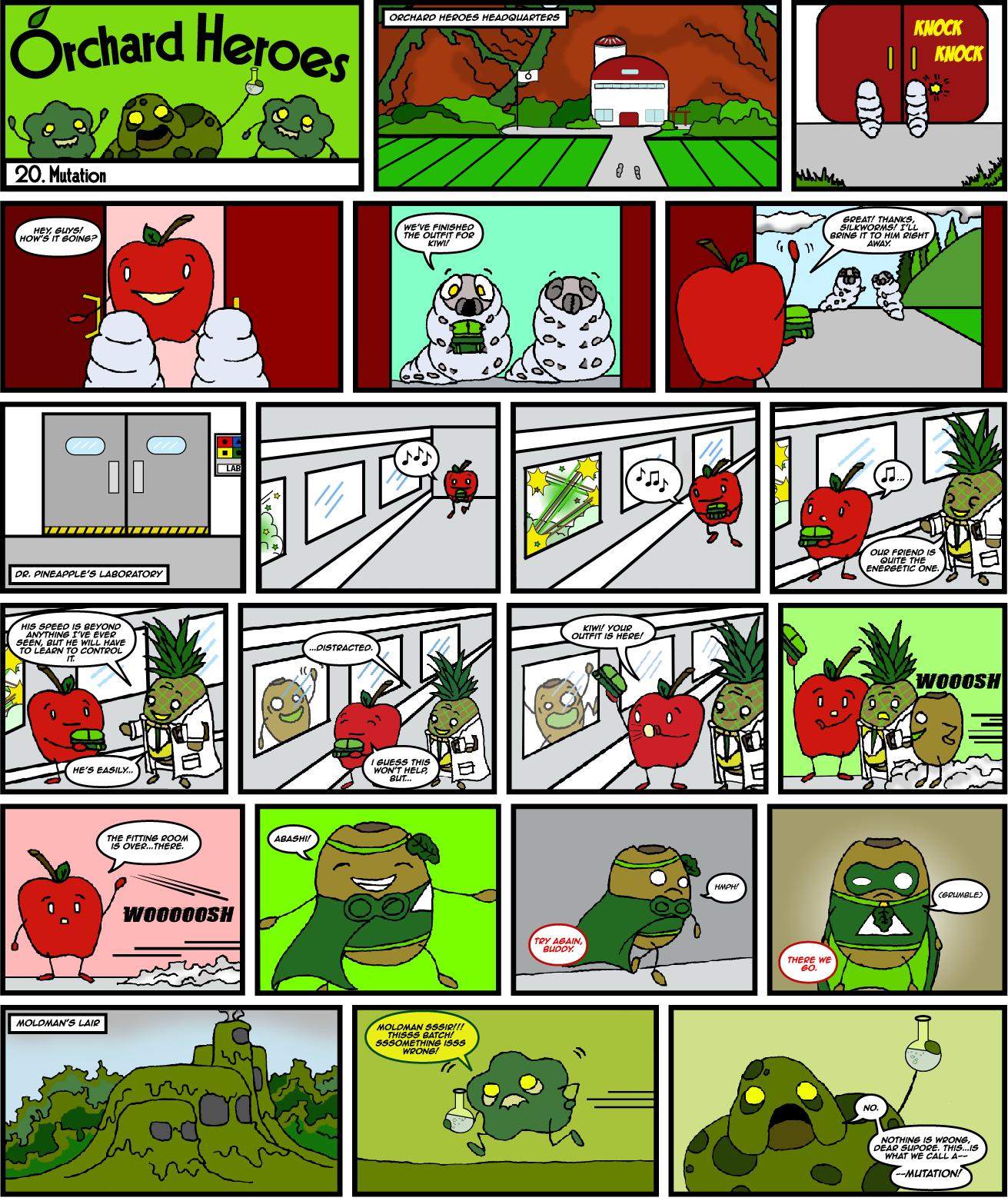 Issue 20: Mutation